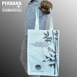jual tas blacu murah dengan sablon custom
