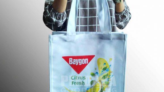 Harga Goodie Bag Bahan Kanvas Printing Dan Sablon